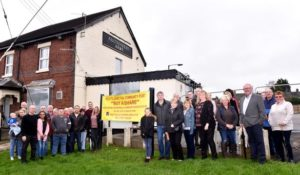 The Auctioneers Arms - Banner